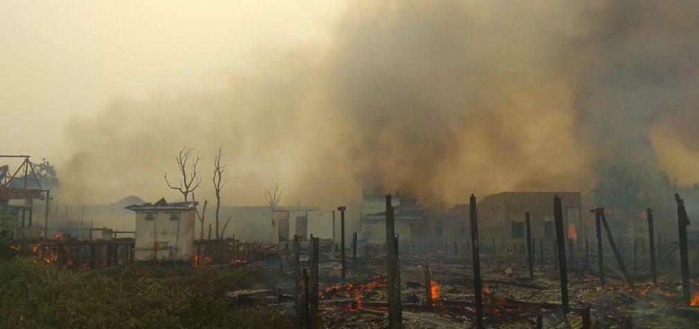 Kebakaran di Tangga Buntung, 15 Rumah Warga Hangus