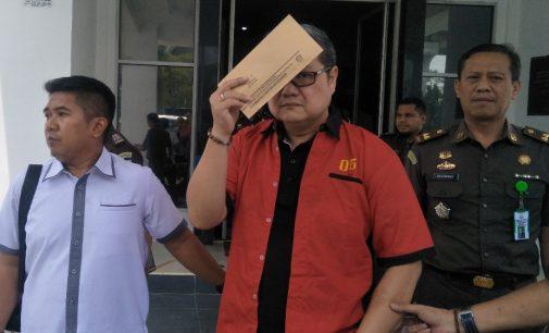 Koruptor Kredit Bank Sumsel Babel Dijebloskan ke Rutan Pakjo