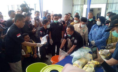 42 Kg Sabu dan 26.545 Pil Ekstasi Dimusnahkan BNNP Sumsel