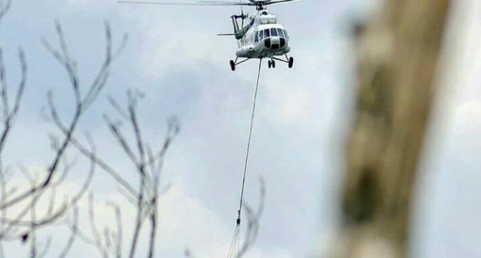 Satu Helikopter di Riau Dialihkan ke Sumsel