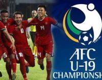 Ini Daftar Tim Yang Lolos ke Putaran Final Piala AFC U-19 2020