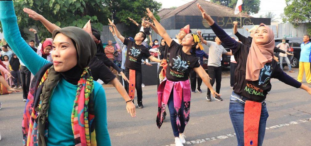 Sambut Indonesia Menari 2019, Puluhan Penari Ramaikan CFD di KI