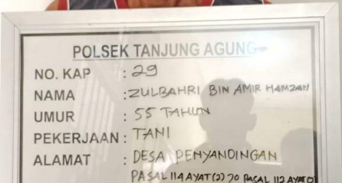Tim Lebah Polsek Tanjung Agung Bekuk Zulbahri