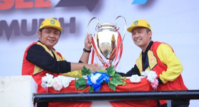 Gubernur Buka PORPROV Sumsel XII Tahun 2019 di Prabumulih