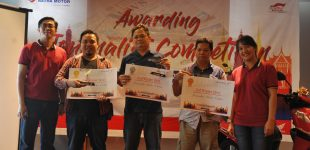 Astra Motor Sumsel Umumkan Awarding Journalist Competition 2019