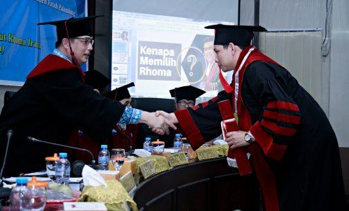 Istimewa, Sidang Terbuka Promosi Doktor Saefudin Dihadiri Rhoma Irama