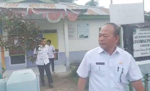 Sidak Kadis PMD Bersama Tim Temukan Banyak Kantor Desa Yang Kosong