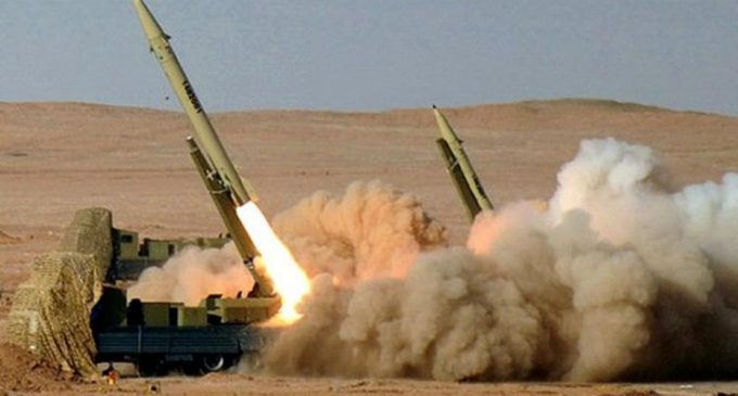 Puluhan Rudal Balistik Iran Serang Pangkalan Militer AS