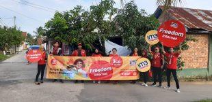 Freedom Internet IM3 Ooredoo Kini Dirasakan Warga Sentosa Plaju