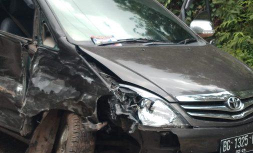 Lakalantas di Jalan Raya Pendopo KM 11, Terios Hantam Inova 3 Korban Luka – Luka