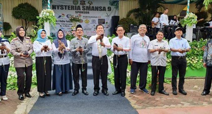 Gelaran Hysteria SMANSA Prabumulih ke 9 Diwarnai Launching Aplikasi Brilian