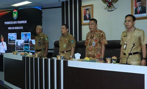 Asisten III Buka Bimtek dan Pengecekan Kelengkapan Data LPPD Kota Prabumulih