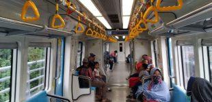 Jumlah Penumpang Turun, LRT Sumsel Kembali Kurangi Perjalanan