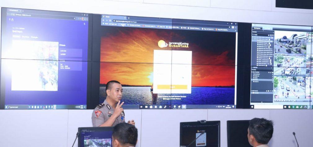 Peluncuran Aplikasi Lancang Kuning Nusantara