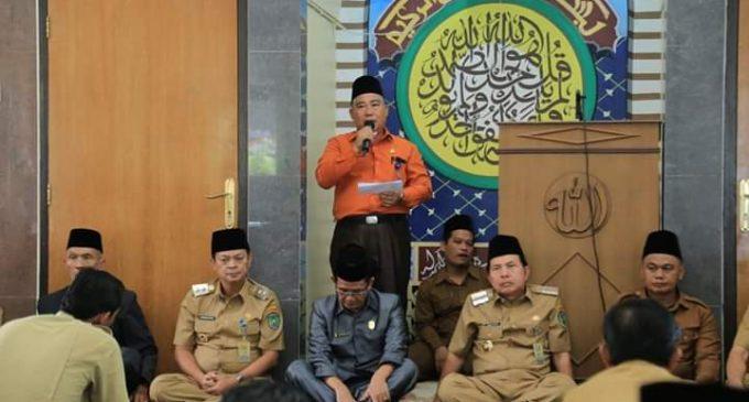 Ridho Yahya Doa Bersama Agar Kota Prabumulih Terhindar Virus Corona