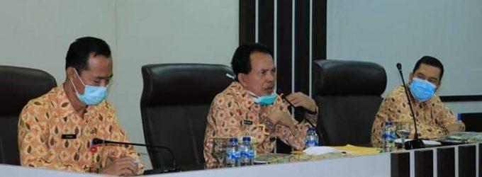 Gelar Pertemuan, Pemkot Prabumulih Minta Pelaku Usaha Patuhi Protokol Kesehatan