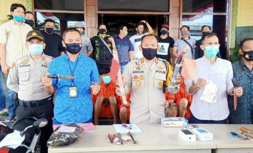 Hanya Dalam Waktu Satu Pekan, Reskrim Polrestabes Palembang Ringkus 15 Bandit Jalanan