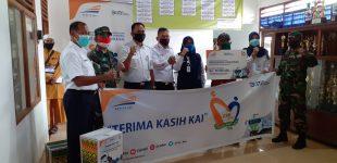 Sambut Idul Adha 1441 H, PT KAI Divre III Palembang Bagikan 1.100 Paket Sembako dan Bantuan Hewan Kurban
