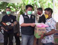 Pemprov Sumsel Gelontorkan Rp 81 juta Bantu Korban Kebakaran Tangga Buntung