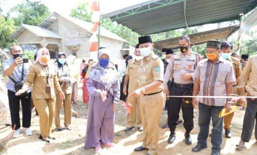 Peletakan Batu Pertama Pembangunan Masjid Baiturrahim Prabumulih
