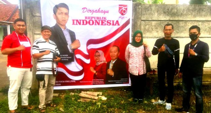 Peringati Hari Kemerdekaan, FSPSS Kota Palembang Gelar Bakti Sosial