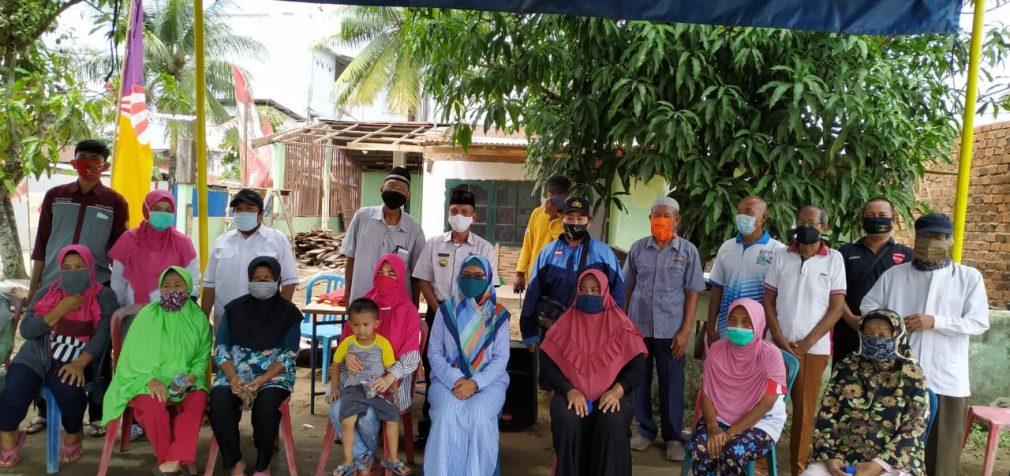 Kelurahan 2 Ilir Bersama Tim Puskesmas Sosialisasikan Protokol Kesehatan