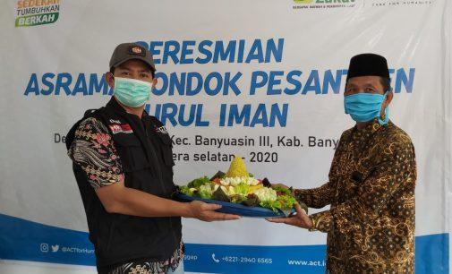Peduli Santri di Ujung Tanjung, ACT Dirikan Gedung Asrama Baru
