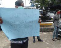 Mahasiswa dan Alumni Tolak Hasil Pilrek UIN Raden Fatah Palembang