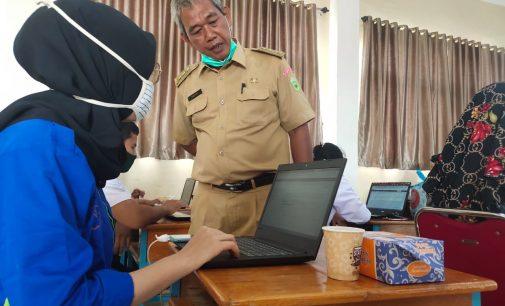 Efektifkan PJJ, Sub Rayon 8 SMK Palembang Gelar In House Training