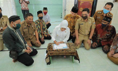 Wawako Palembang Resmikan Masjid Darussalam di Kecamatan Kalidoni