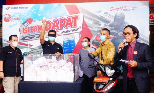 Sobandija Beruntung Mendapatkan Honda Supra GTR 150