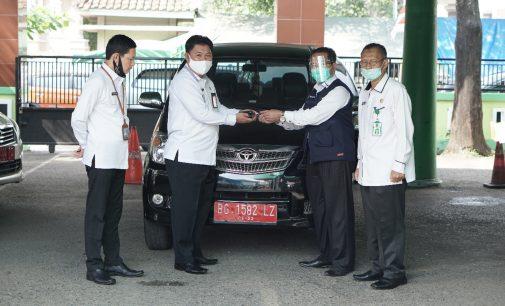 Satgas Halal Sumsel Terima Bantuan Mobil Operasional