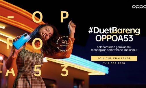 Dapatkan A53 Gratis Melalui Kompetisi #DuetBarengOPPOA53