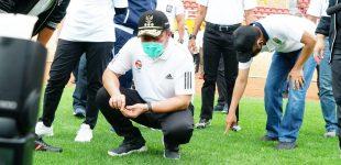 Tinjau GSJ, HD Optimis Sumsel Tuan Rumah Piala Dunia U-21