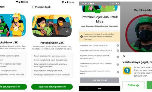 Konsumen Makin Aman dan Nyaman Naik Gojek dengan Inovasi J3K Terbaru