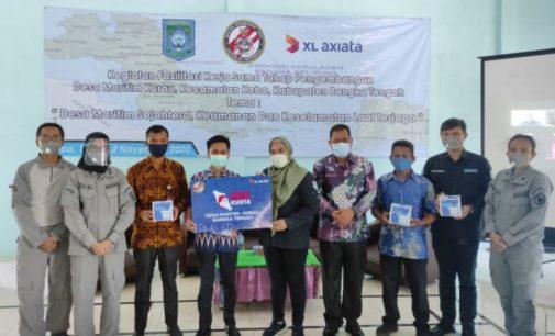XL Axiata – Bakamla Dukung Pengembangan Desa Maritim di Pulau Bangka
