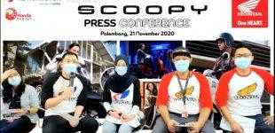 Siap Jadi Trendsetter, All New Honda Scoopy Resmi Launching di Sumsel