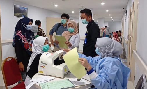 Layani Tes Kesehatan CPNS, RSMH Palembang Batasi 200 Orang per Hari