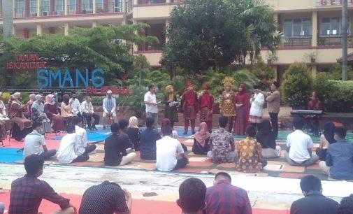 Langsung Tayang, Rentak Ulu Melayu Syuting di SMAN 6 Palembang