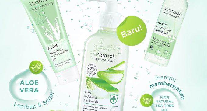 Wardah Luncurkan Produk Terbaru, Wardah Nature Daily Aloe Hydramild Series