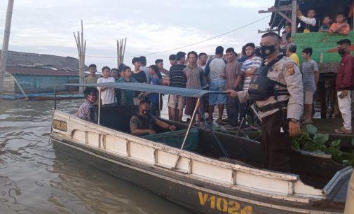 Basarnas Cari Arumi Yang Tenggelam di Sungai Musi