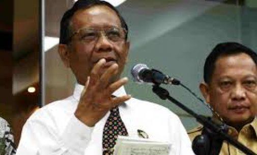 Pemerintah Bubarkan dan Larang Aktivitas FPI