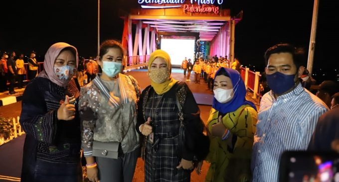 Tutup Tahun 2020, HD Beri Kado Istimewa Jembatan Musi 6 untuk Warga Palembang