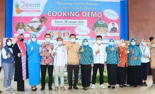 Wako Dan BSB Prabumulih Dukung Program Ipemi Tingkatkan Peluang Usaha Kuliner