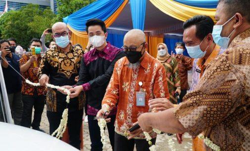 SPKLU Siap Layani Charging Mobil Listrik di Palembang