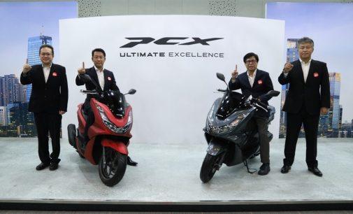 Launching di Palembang Akhir Februari, Fitur Honda New PCX 160 Makin Canggih