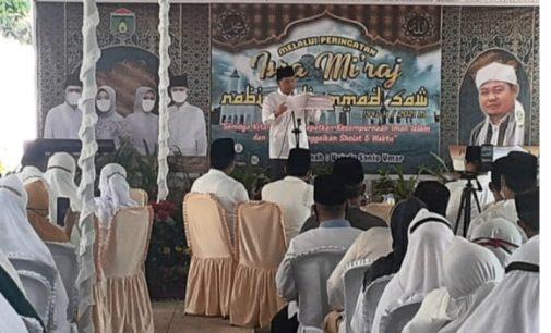 Ridho Yahya Hadiri Tabligh Akbar Peringatan Isra Mi'raj di TPU Sungai Medang
