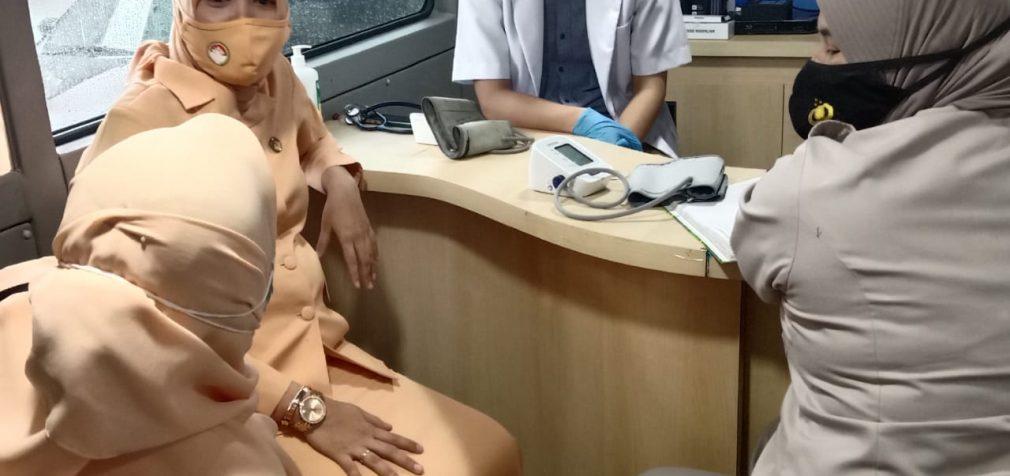 Samsat IV Palembang Adakan Donor Darah dan Pengobatan Gratis
