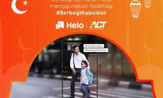 """Helo Ajak Pengguna Rayakan Ramadan dengan Program """"Berbagi Kebaikan"""""""