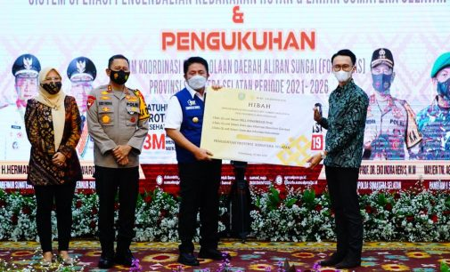 Herman Deru Launching SONGKET, Aplikasi Canggih Deteksi Dini Karhutla Pertama di Indonesia
